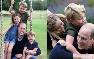 Prince William's 38th birthday marked with special family snaps