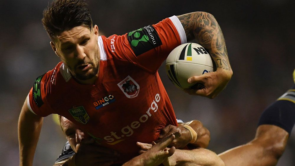 Gareth Widdop is facing six weeks on the sidelines. (AAP)