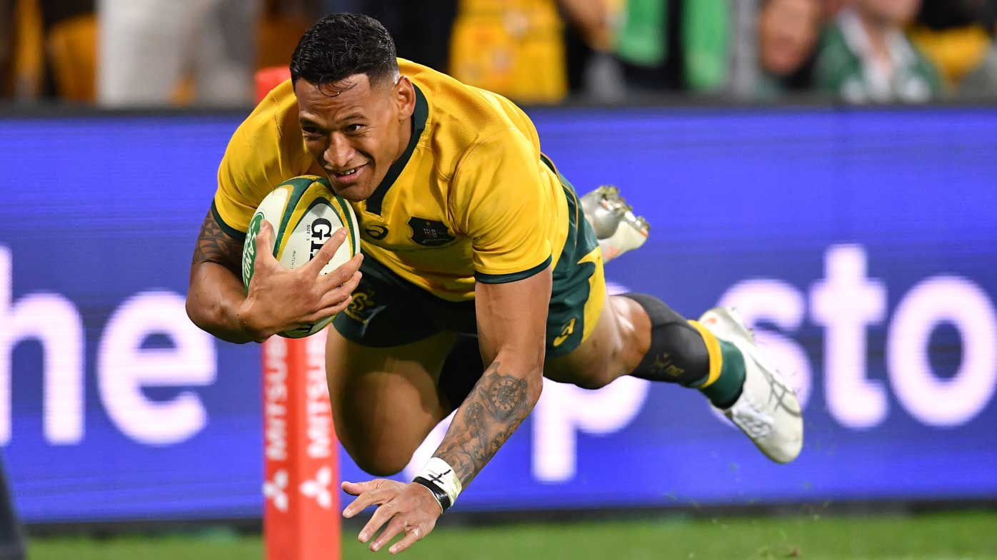 Wallabies mulling replacement for injured Israel Folau