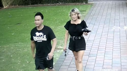The couple have reportedly racked up bills worth $250 and then leave without paying. (9NEWS)