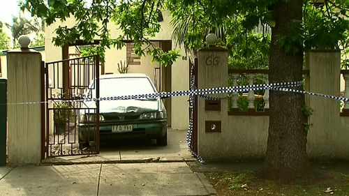 Police are investigating after an elderly man was found dead outside a Yarraville home. (9NEWS)