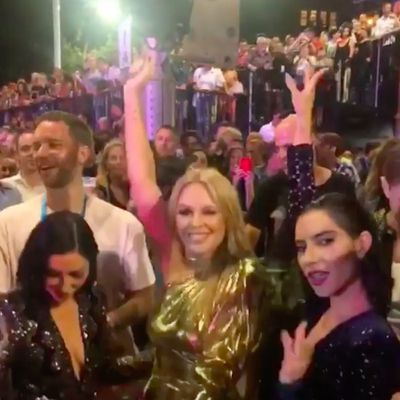 Kylie Minogue and The Veronicas