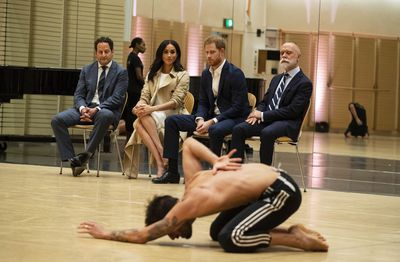 Meghan Markle and Prince Harry at the Opera House, Tuesday October 16 2018