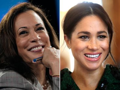 Kamala Harris and Meghan Markle