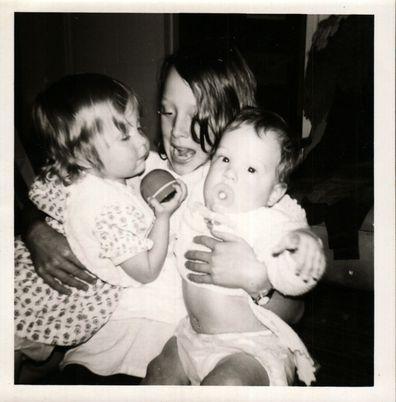 Hilde, Connie and Sam as children