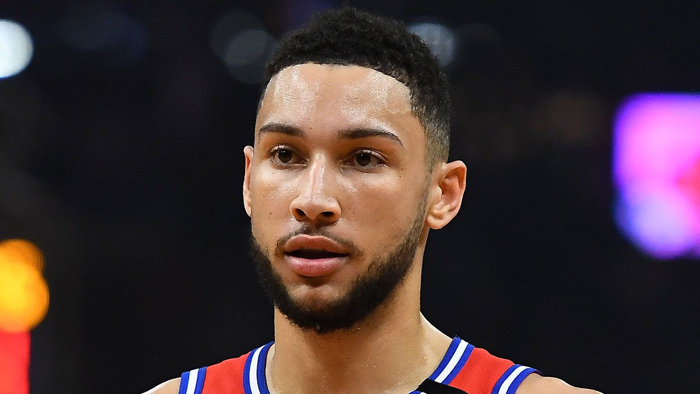 'Concerns of an injury': Fears Ben Simmons could have a serious lower back injury