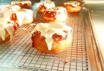 Pizza doughnut
