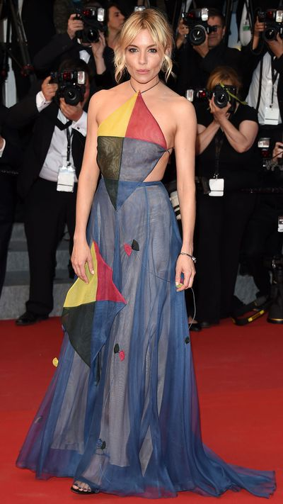 <p>Sienna Miller in Valentino Couture</p>