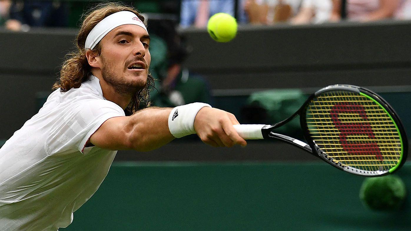 Djokovic wins, Tsitsipas and Kvitova bundled out on rainy opening day of Wimbledon