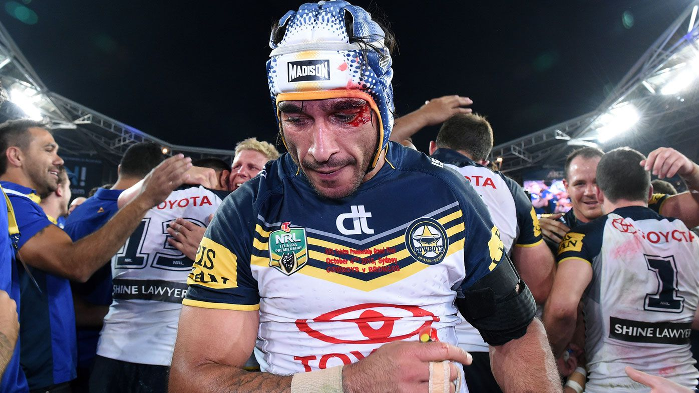 What nearly cost Johnathan Thurston his 2015 grand final glory