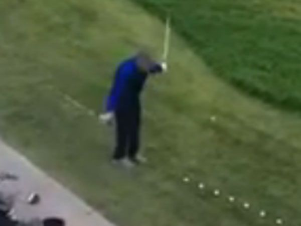 Brit trick shot king wows golf fans