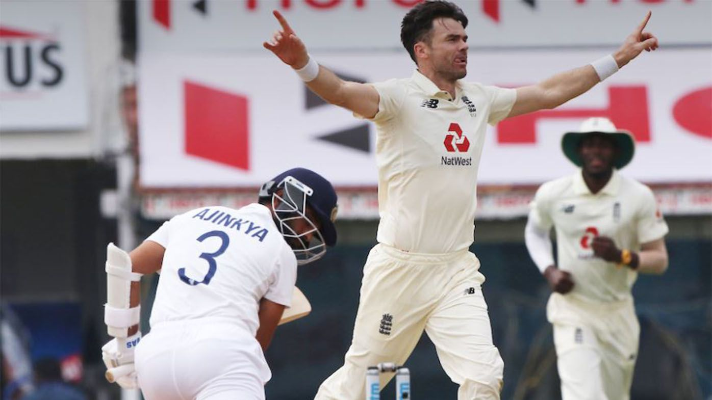 James Anderson unleashes one of the greatest overs in Test history