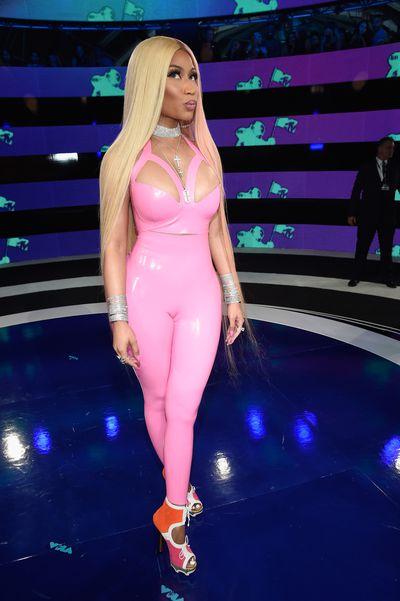 <p>LOSE</p> <p>Nicki Minaj in Atsuko Kudo at the MTV VMAs in LA on August 29.</p> <p>Not so pretty in pink.</p>