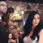 Horror moment wedding officiant goes off-script caught on camera