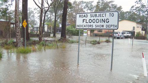 NSW South Coast flooding July 28 2020