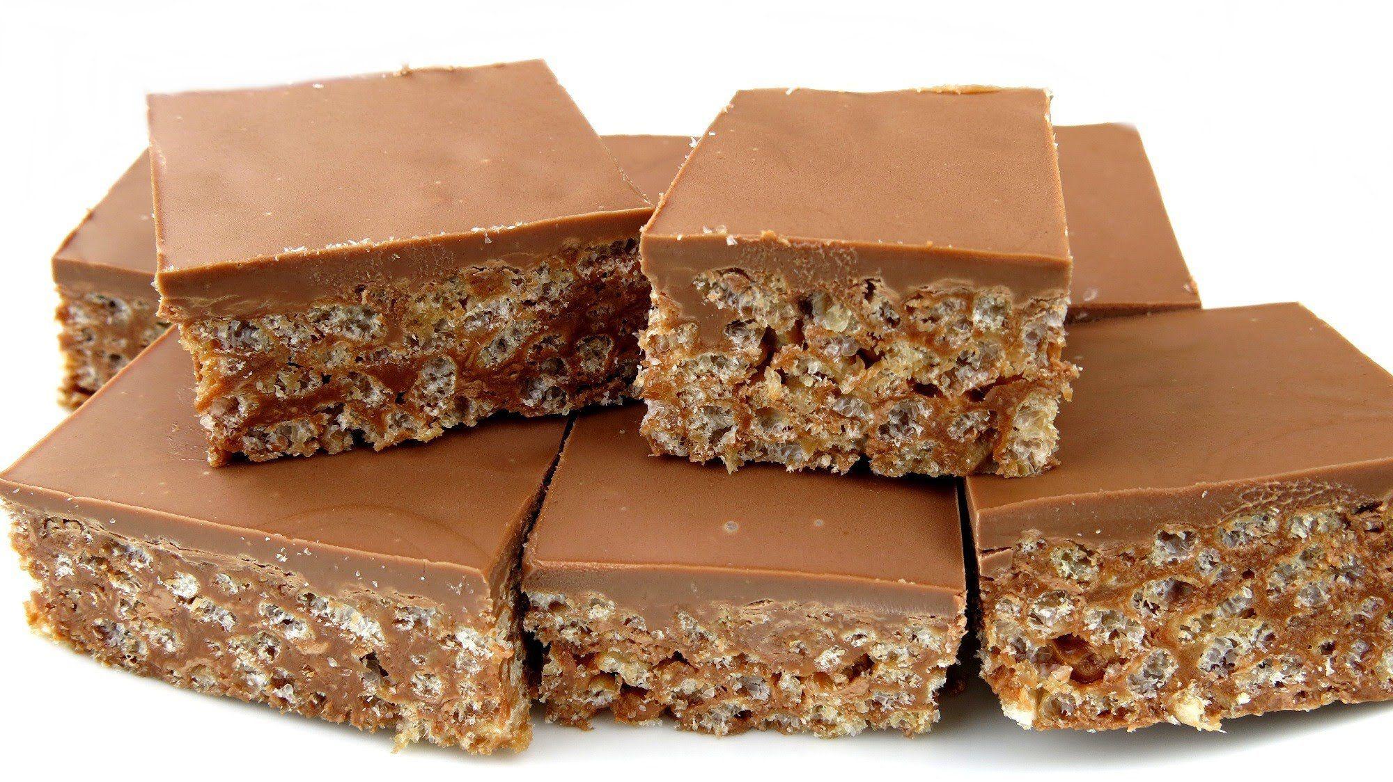 Image result for mars bar slice