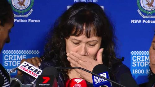 Today, Ms Ardler's emotional sisters made a tearful public appeal for anyone to come forward who can help in the investigation. Picture: 9NEWS.