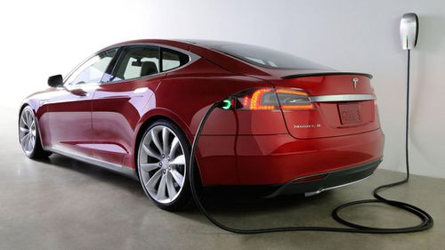 Tesla will recall 90,000 of its Model S electric car over a seatbelt fault. (AAP)