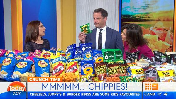 Today show hosts taste test the best potato crisps