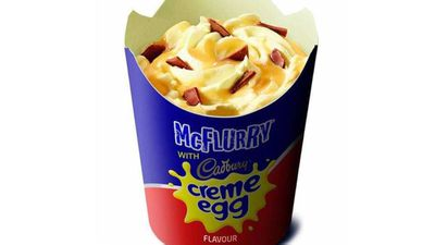 McDonald's brings back the McFlurry creme egg in time for Easter