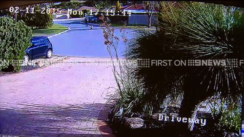 The shooting happening in a suburban Perth street. (9NEWS)