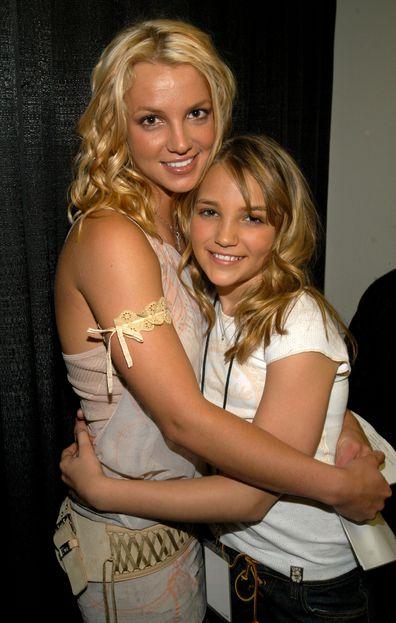 Britney Spears, Jamie Lynn Spears, Nickelodeon Kids Choice Awards 2003