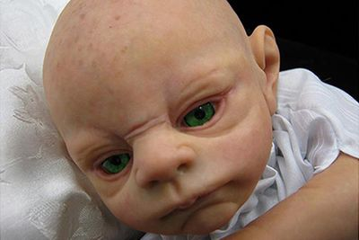 Baby Dobby. Cabbage Patch gone rotten.