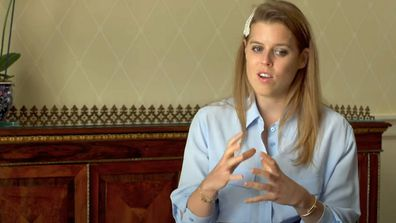 Princess Beatrice in new Made By Dyslexia video