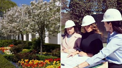 Petition implores the Bidens to 'un-Melania' the White House Rose garden