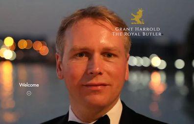 Grant Harrold, aka 'The Royal Butler'.