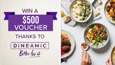 You could win healthy family dinners, like these, delivered to your door!