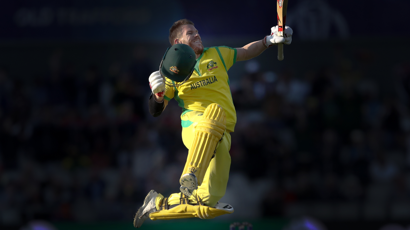 David Warner scores World Cup century against South Africa