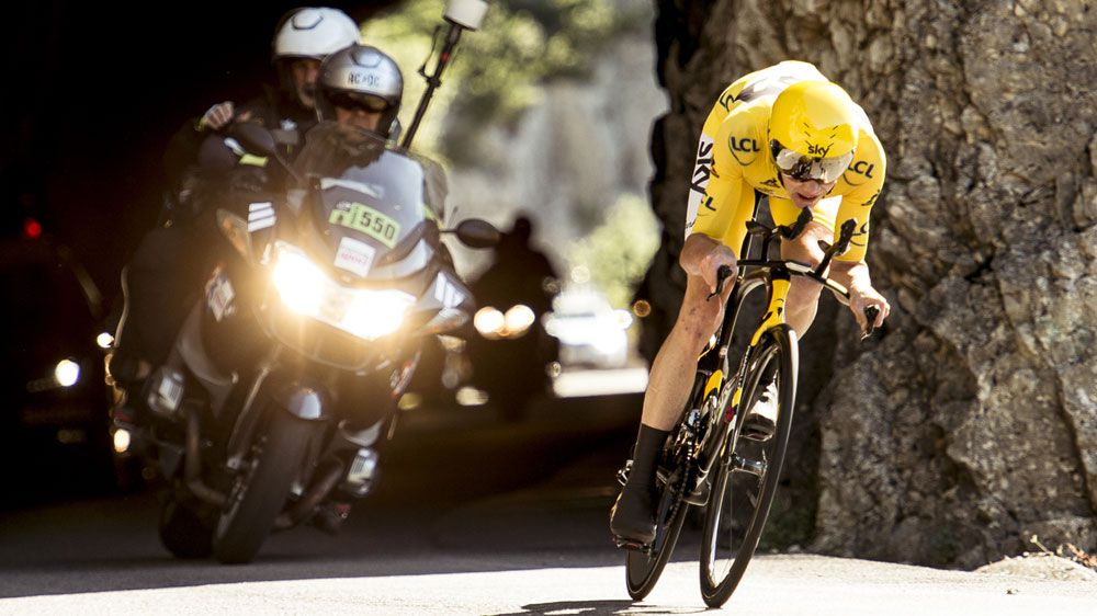 Chris Froome (AAP)