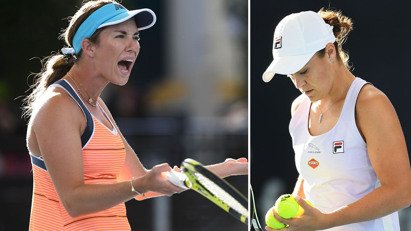 'Doing it because she's Australian': Danielle Collins accuses chair umpire of favouring Ash Barty