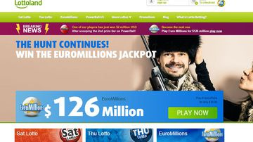 Lottoland lets punters bet on the results of overseas lotteries. (Supplied)