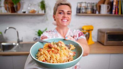 Jane de Graaff cooks no stir cheat's baked risotto