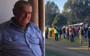 Search for elderly man missing from central Victoria enters third day as hopes fade