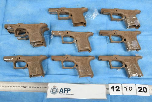 Authorities stop firearm parts destined for Bikies