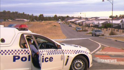 Police have blocked off the scene in Baldivis. (9NEWS)