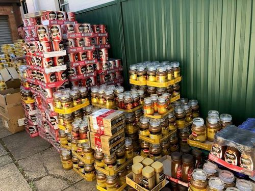 After he was taken to St George Police station the man was charged with seven counts of shoplifting and seven counts of receiving or disposing stolen property.