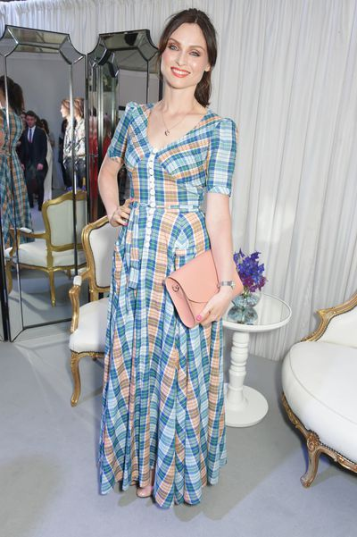 Sophie Ellis Bextor checks out at the Glamour UK Awards, 2017.