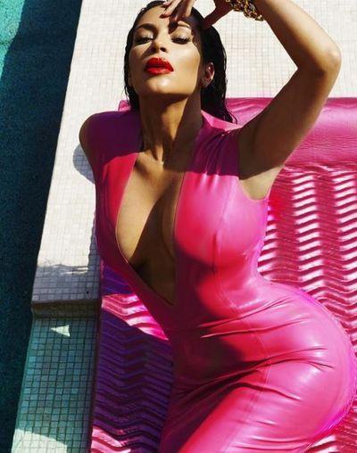 Kim Kardashian for Vogue, September, 2015