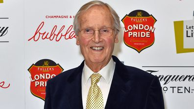 Nicholas Parsons attends the first night of the Letters Live series at the Freemason's Hall, London.. Picture date: Tuesday October 4, 2016.