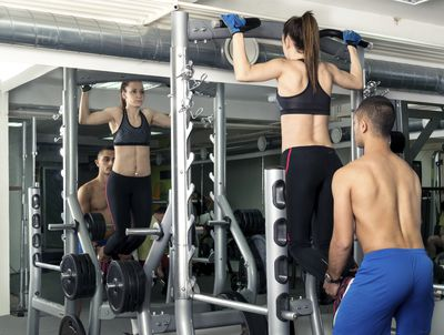 <strong>...hot guy assisted pull-ups or...</strong>