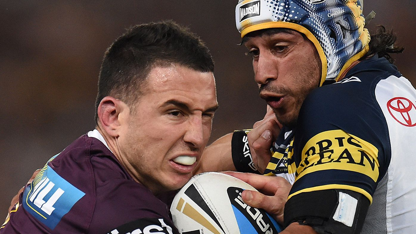 Darius Boyd and Johnathan Thurston