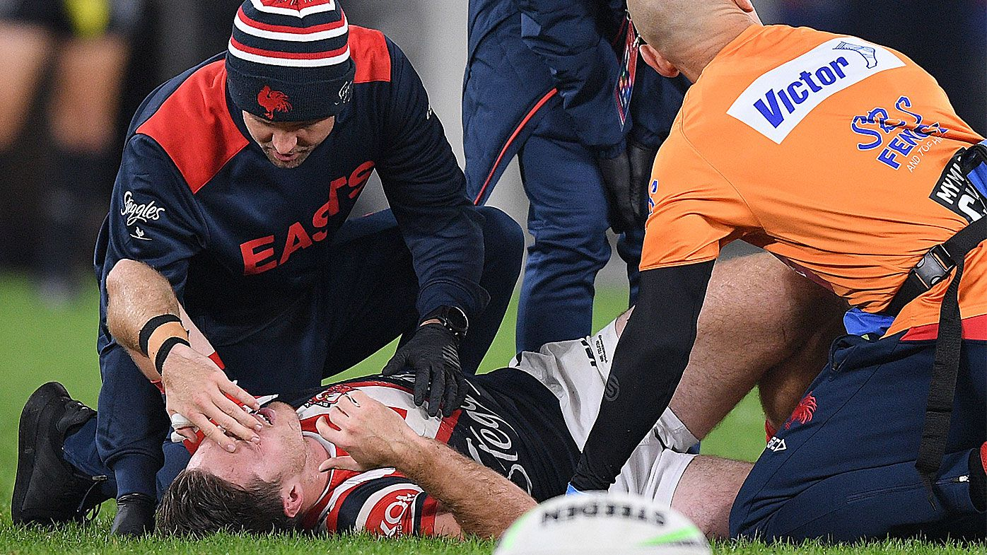 NRL to assess Bankwest Stadium surface as Sydney Roosters deny making official complaint