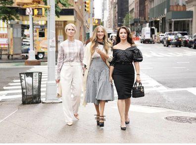 Sex and the City, And Just Like That, Sarah Jessica Parker, Cynthia Nixon, Kristin Davis