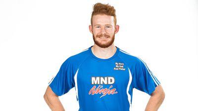 Michael Fisher competing on Australian Ninja Warrior 2020.