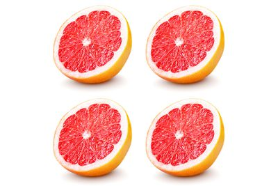 Two large grapefruits are 100 calories