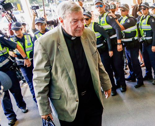 The Cardinal has taken leave from his position at the Vatican to fight the charges. (AAP)